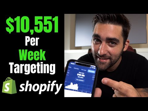 BEST Targeting Methods With Facebook Ads For Shopify Dropshipping thumbnail