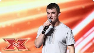 Anthony Russell Is Runnin After His Dreams Boot Camp The X Factor 2017