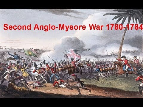 SECOND ANGLO MYSORE WAR 1780-1784 II HISTORY INDUS II