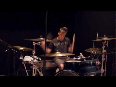 Thousand Foot Krutch - Down - Drum Cover - Brooks