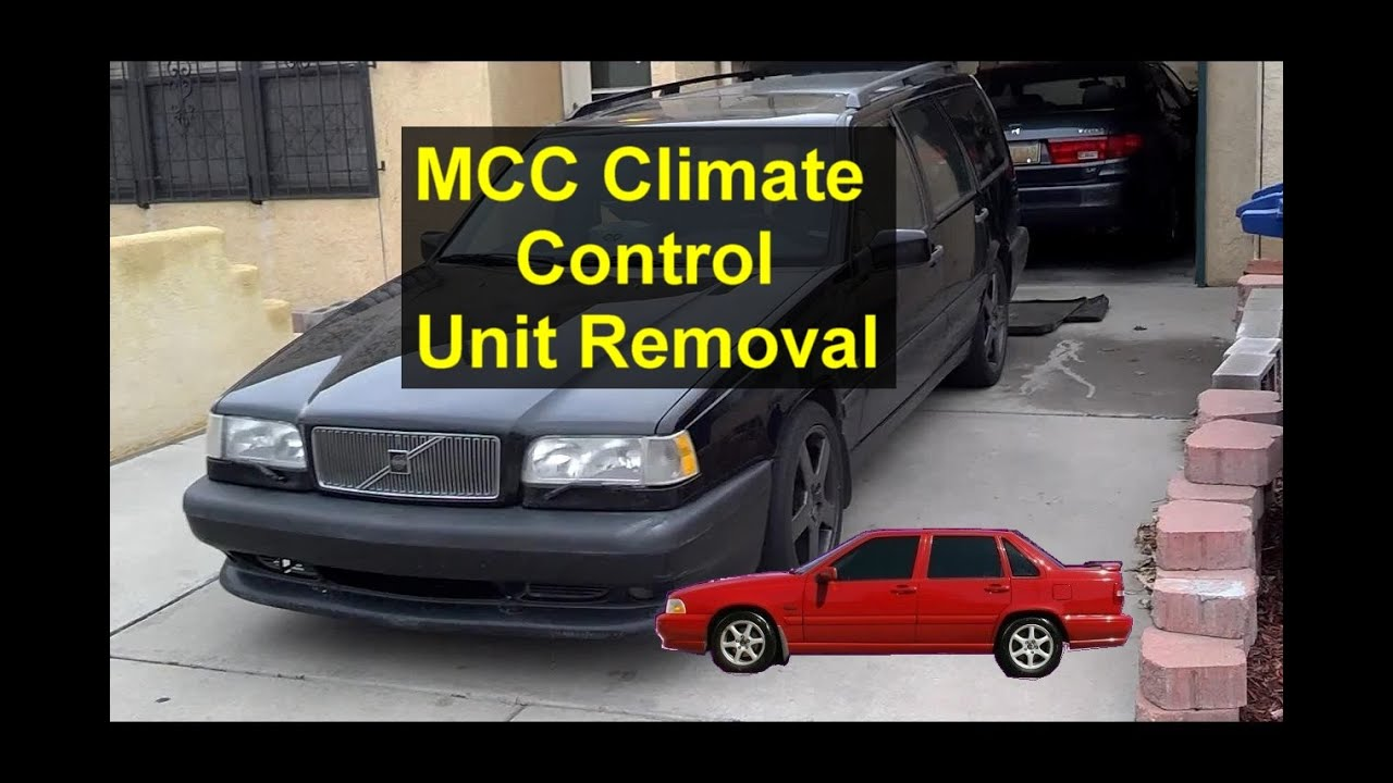 mcc climate control unit removal volvo s70 v70 xc70 850 etc rh youtube com 1995 volvo 850 glt owners manual 1995 volvo 850 turbo service manual