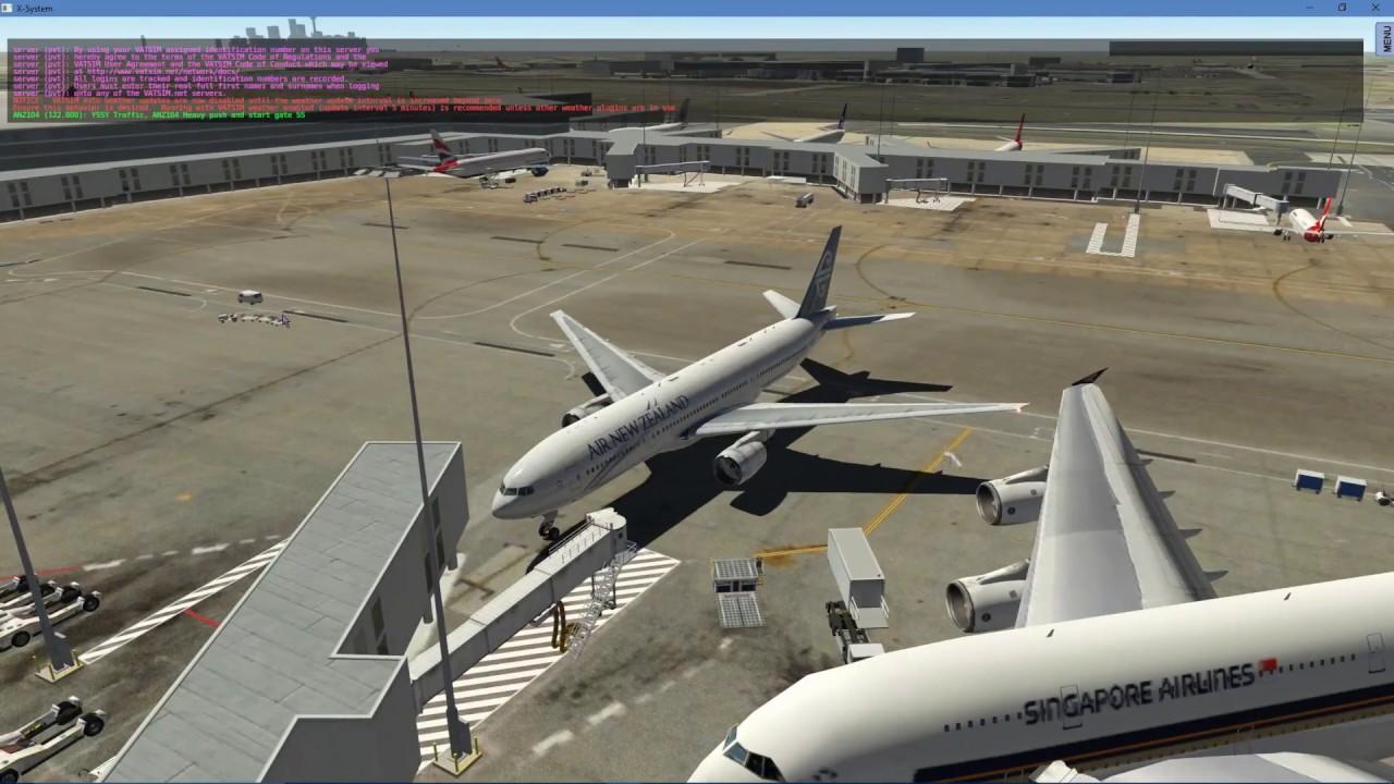 X-Plane 11 | B777-200ER (v194) | Sydney to Auckland