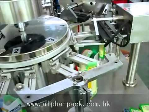 Ap 8bt Ii Rotary Filling And Sealing Machine For Premad