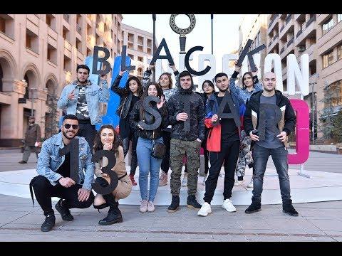 Տիմատին Երևանում! Ֆան-Քվեստ Black Star Burger Yerevan-ի բացումից առաջ
