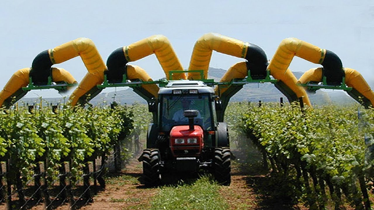 These agricultural machinery created a shock for the whole world.