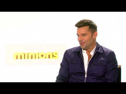 Ricky Martin conversa sobre Minions con Alex Medela (Versión Tu Mañana)
