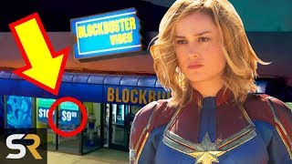 5 Hidden '90s References You Missed In The New Captain Marvel Trailer