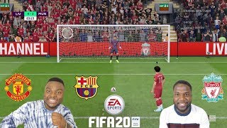 FIFA 20 CHALLENGE WITH JOSH | SAMSPEDY (Liverpool Vs Barcelona Vs Manchester)