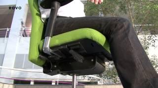 Der Physiotherapeut Andreas Sperber erklärt die Wirkung des bewegte...