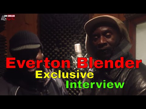 Everton Blender - Exclusive Interview at StingRay Records 2016