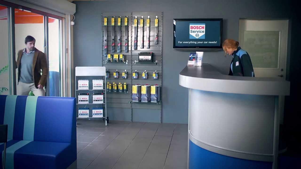 Bosch Car Service Service Campaign Dk Youtube