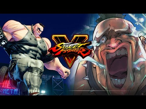 ABIGAIL - Combos/Story/Impressions: Street Fighter 5 Season 2