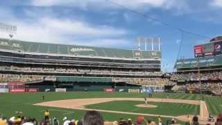0601 Take Me Out to the Ballgame @ O. Co. Coliseum - Chicago White Sox vs. Oakland Athletics