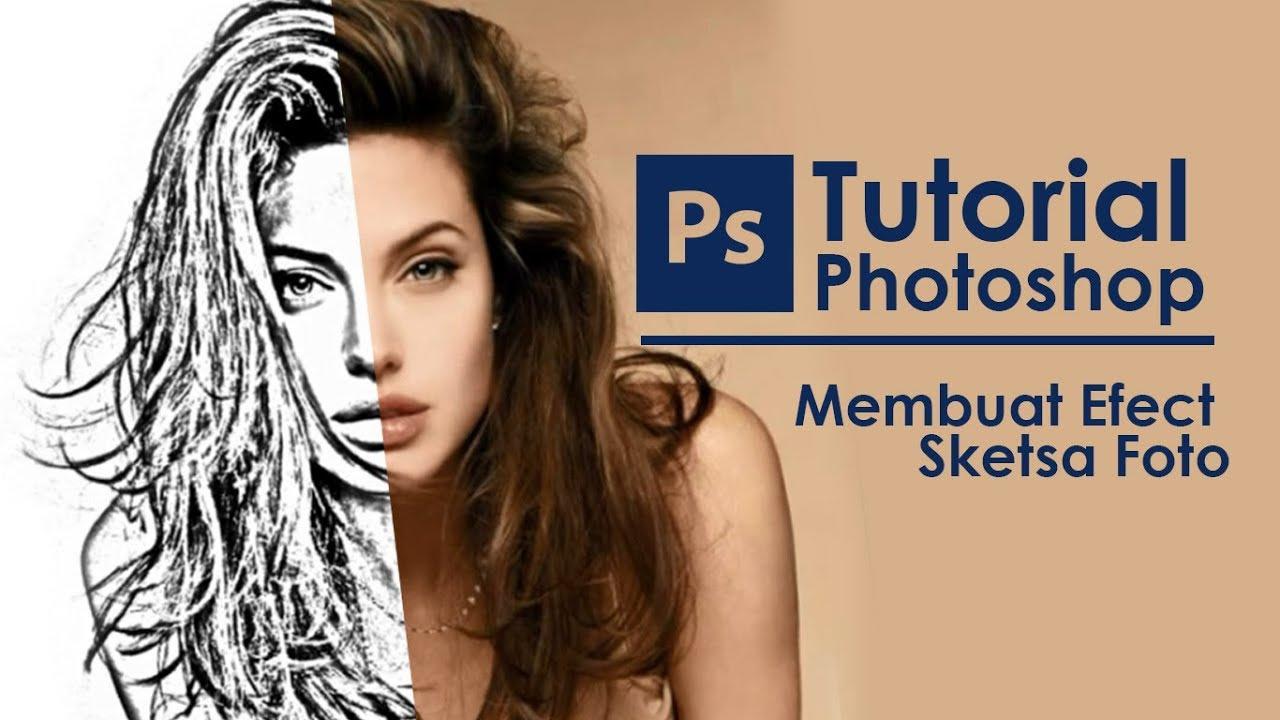 Mengubah Foto Menjadi Sketsa Di Photoshop Cs6 Youtube