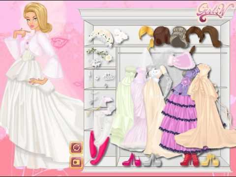 Мультик игра Одевалка: Зимняя свадьба (Winter Wedding)