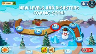 disaster Will Strike Android HD Level 83, 84, 85, 86, 87  Walkthrough