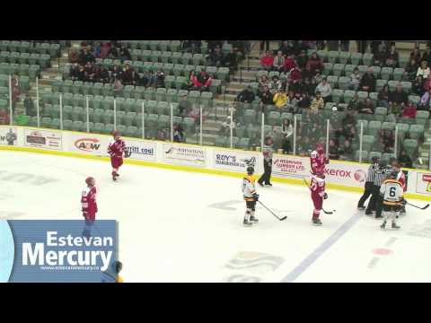 Estevan Bruins vs. Weyburn Red Wings, November 26, 2011