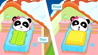 Baby Panda Learn Antonyms With Funny Contrasts - Babybus Kids Games