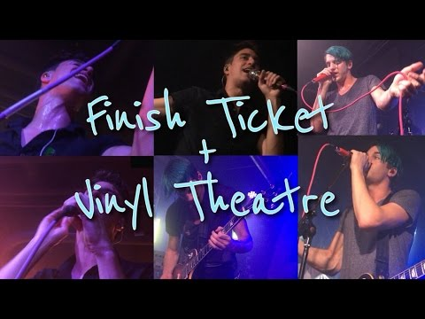 FINISH TICKET & VINYL THEATRE CONCERT VLOG 2-23-16