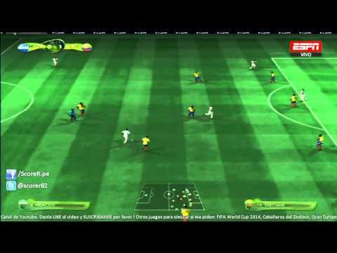 EA SPORTS 2014 FIFA WORLD CUP - Honduras vs Ecuador - Grupo E @ Simulacion PS3