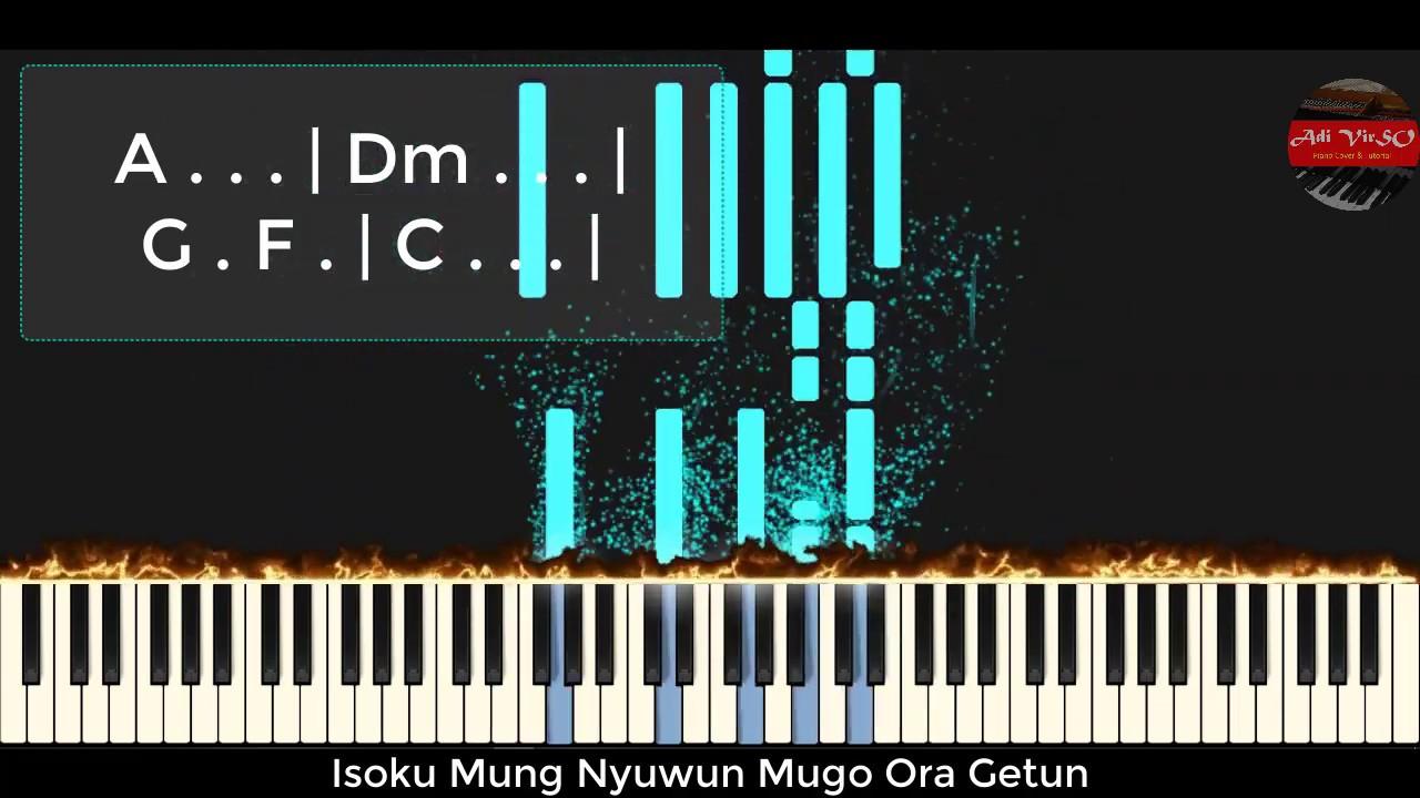 Dalan Liyane Piano Tutorial Cover Hendra Kumbara Piano Dangdut Lirik Dan Chord Version Youtube