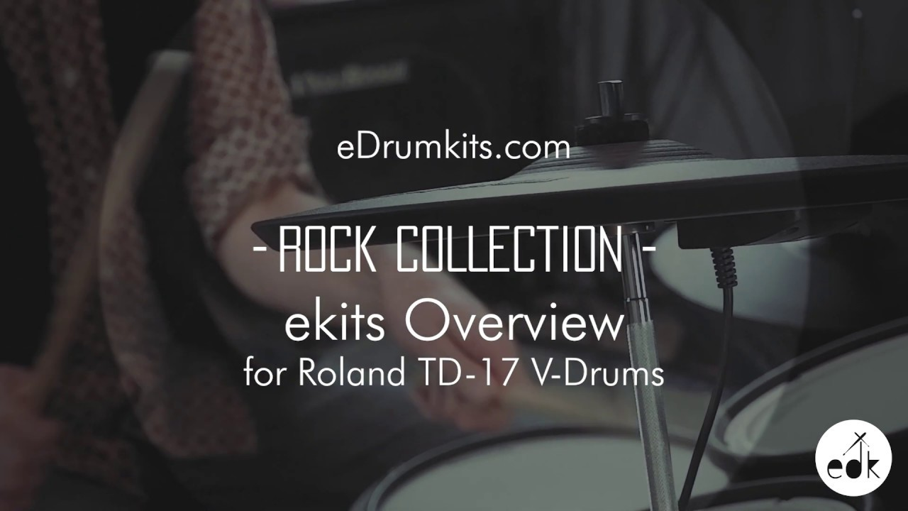 Roland TD-17 Rock Collection Drum Kits