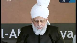 Cuma Hutbesi Türkçe tercümesi 16th September 2011 - Islam Ahmadiyya