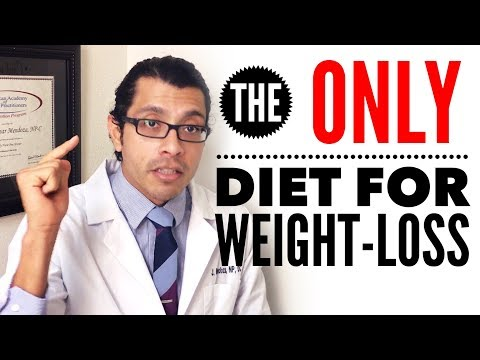 How to Lose Weight - The BEST & ONLY Diet for Weight-Loss