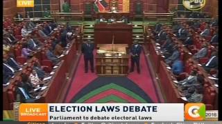 Blow to opposition as MPs reinstate MANUAL ELECTION RESULTS TRANSMISSION