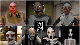 Escape Endings | Granny 2*Mr.Meat*Evil Nun*Dread Teacher*Marta*Slendrina*Erich Sann