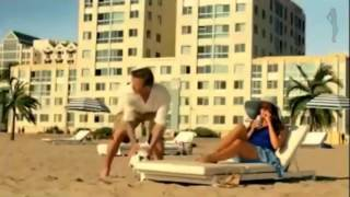 Sofia Vergara's funny prank  David Beckham at the beach