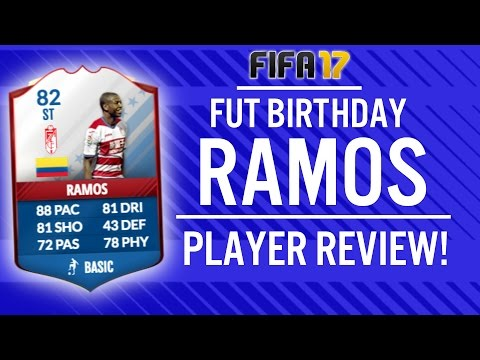FIFA 17 FUT BIRTHDAY ADRIAN RAMOS (82) PLAYER REVIEW! | FIFA 17 ULTIMATE TEAM