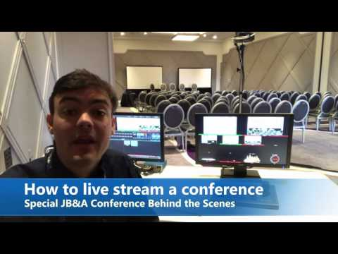 How To Live Stream A Conference / Event