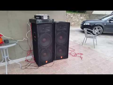 JBL JRX 125  2x1000W / Behringer EP 4000