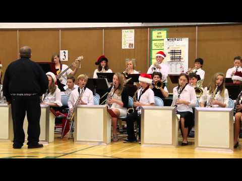 """Incline Middle School Winter Concert Jazz Band playing Journey's """"Don't Stop Believin"""""""