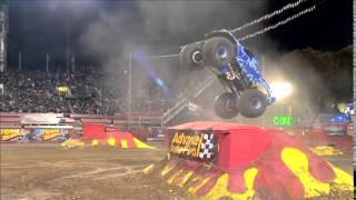 Blue Thunder Freestyle Monster Jam World Finals XIV