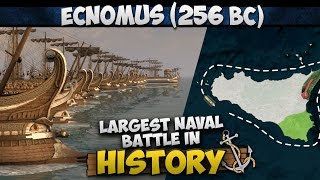 Battle of Ecnomus (256 BC) - Largest Naval Battle in History