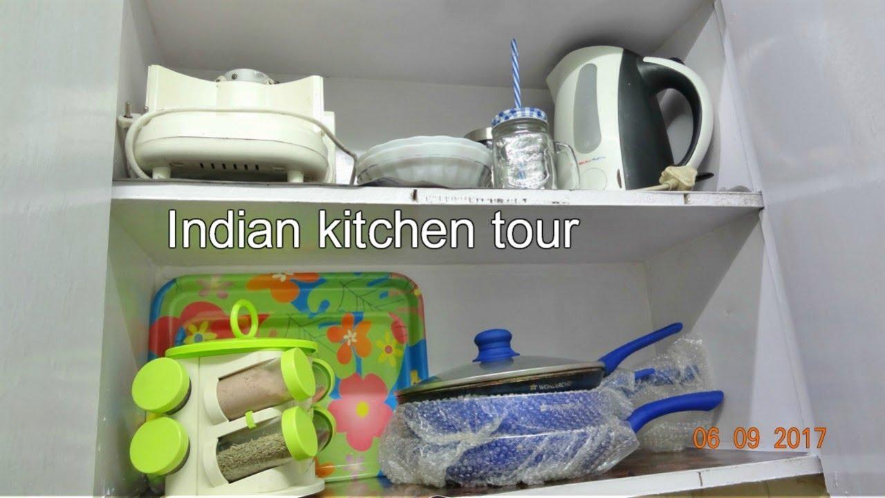 Small Indian Kitchen Tour 2017 Organization Ideas How To Organize