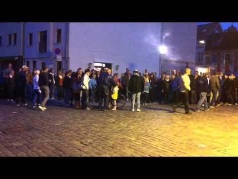 Street Comedy in Stralsund
