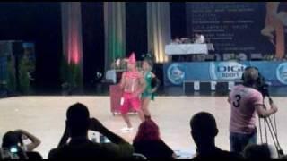 World Dance Festival 2010 Budapest Latin Show Riccardo & Silva
