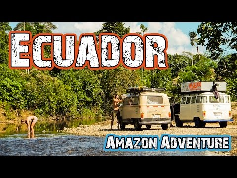 Ecuador Amazon Jungle Aventure - Hasta Alaska - S01E03
