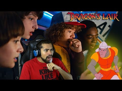 THEY PLAYED THIS ON STRANGER THINGS FOR FUN?! | Dragon's Lair