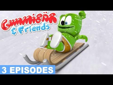Gummy Bear Show FROZEN Gummibär And Friends Episode Compilation