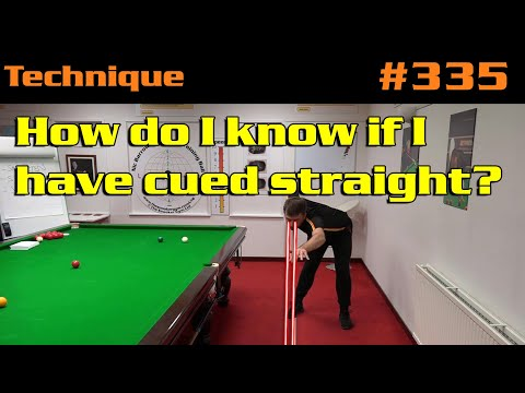 How Do I Know If I Have Cued Straight?