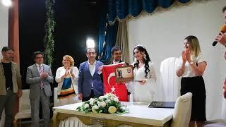 Fırat Şekerci Melike Tulum nikah töreni