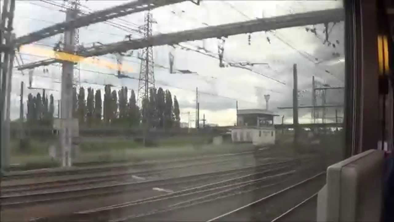 passage st pierre des corps en tgv youtube