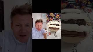 Gordon Ramsay reacts to tiktok cooking videos - Loo Warning