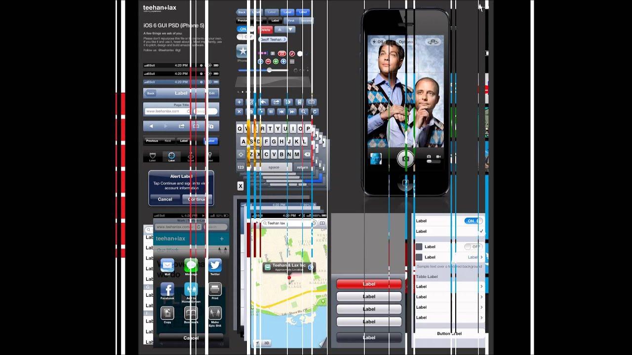 PHApp:Photoshop與Illustrator專業App UI介面視覺設計課程範例 - YouTube