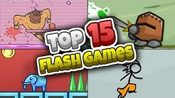 Top 15 BEST Flash Games of All Time! (RIP Flash)