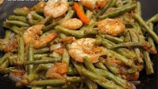 Filipino Food Ginisang Sitaw Sa Hipon Prawns Shrimp Beans Tagalog English Pinoy Cooking